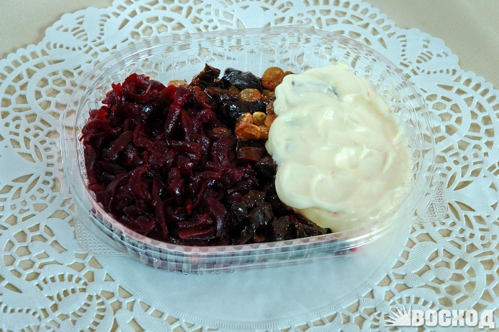 Рецепт салаты из свеклы вареной и яйцами с